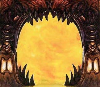 Demon arch   fire