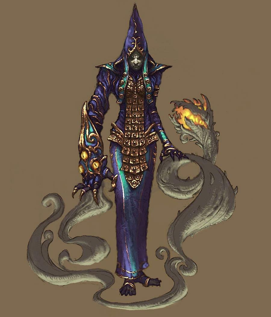 D3 dark cultist concept