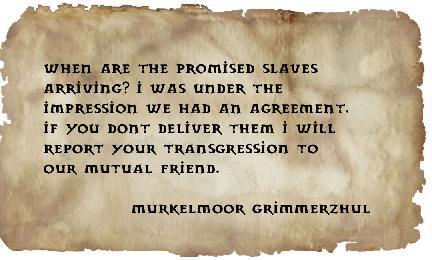 Letter to krand from murkelmor