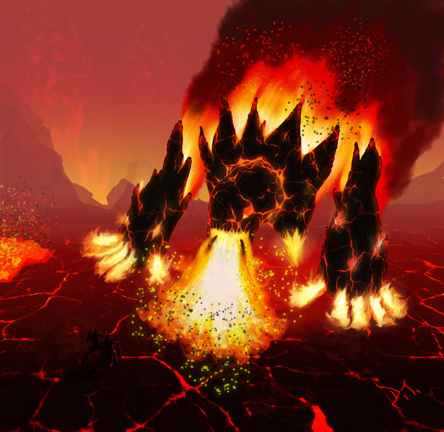 Fire colossus by hadriel99 d3j8k5c