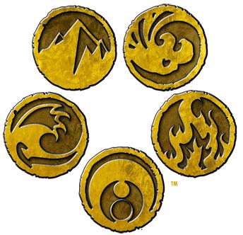 L5 r logo rings