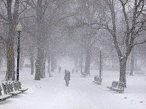 Śnieg w Arkham
