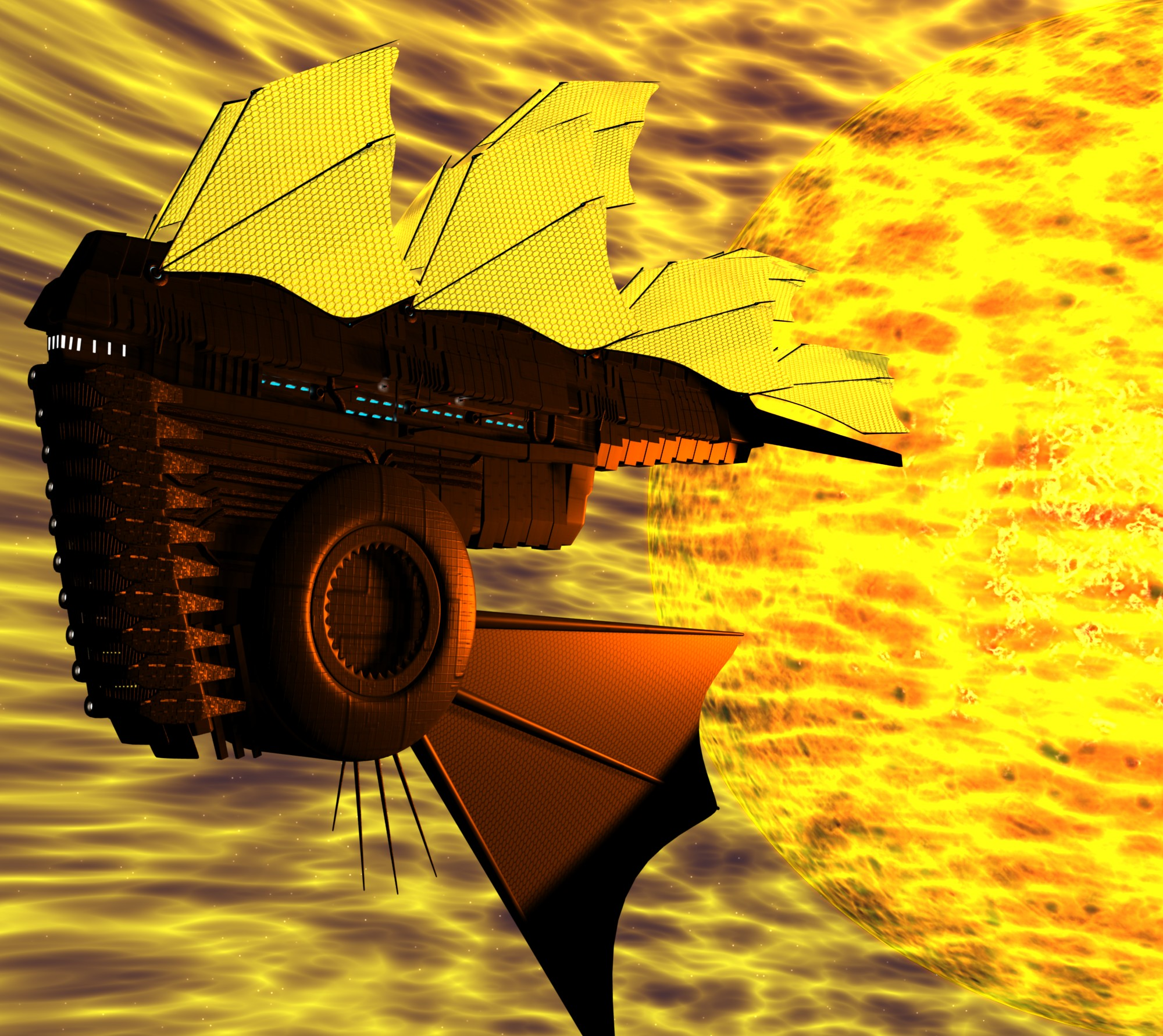 Solar sails by theolly