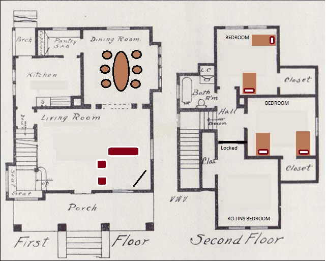 Safehouse floor plan