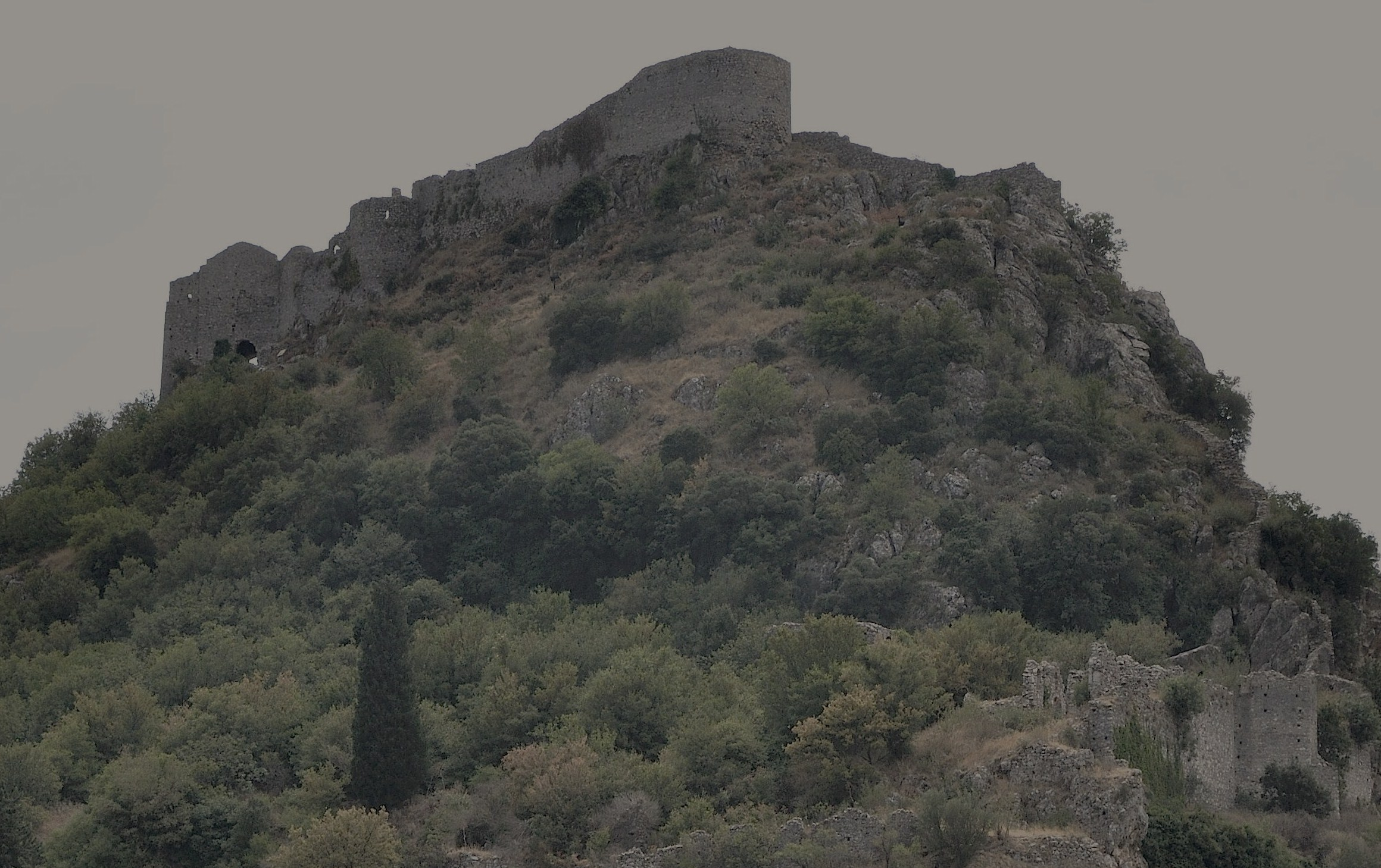 Ruined citadel