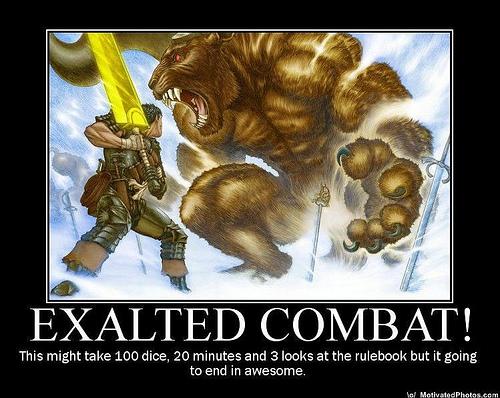 Exalted combat