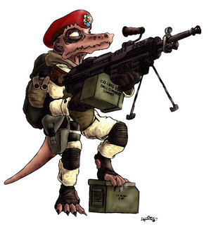 Kobold soldier by commissar kinyaf