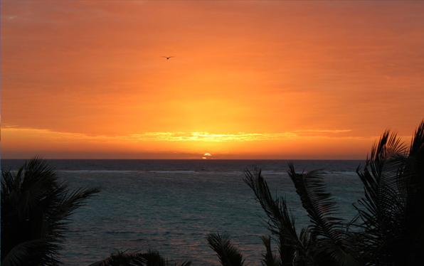 Ayothaya sunset