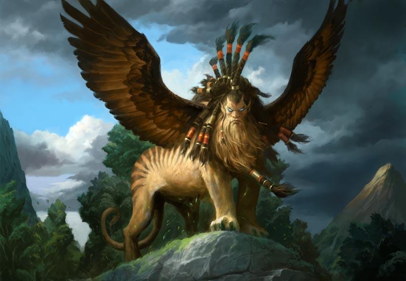 Sphinx of the golden lotus