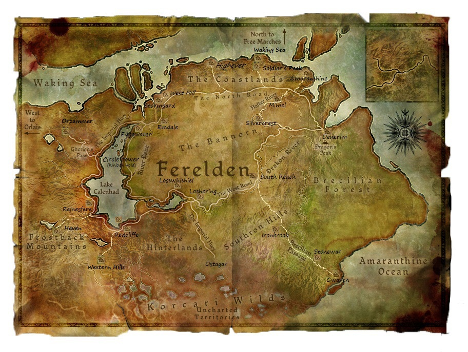 Wv ferelden map