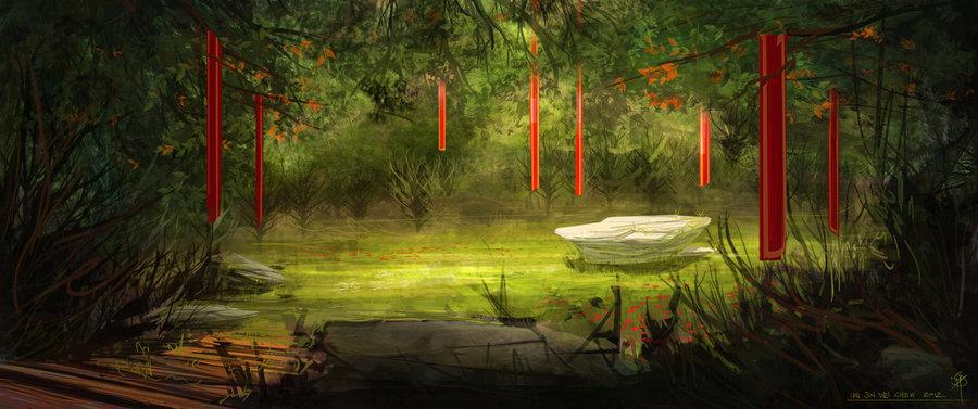 Blackthorn s sacred grove
