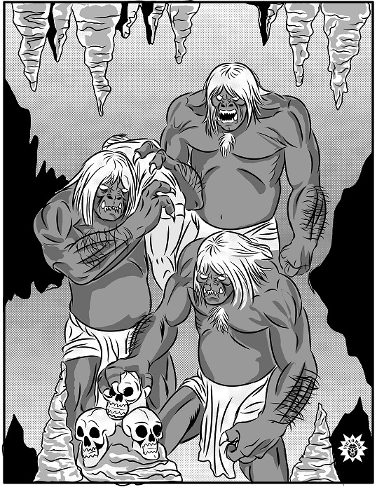 Morlocks by victomon