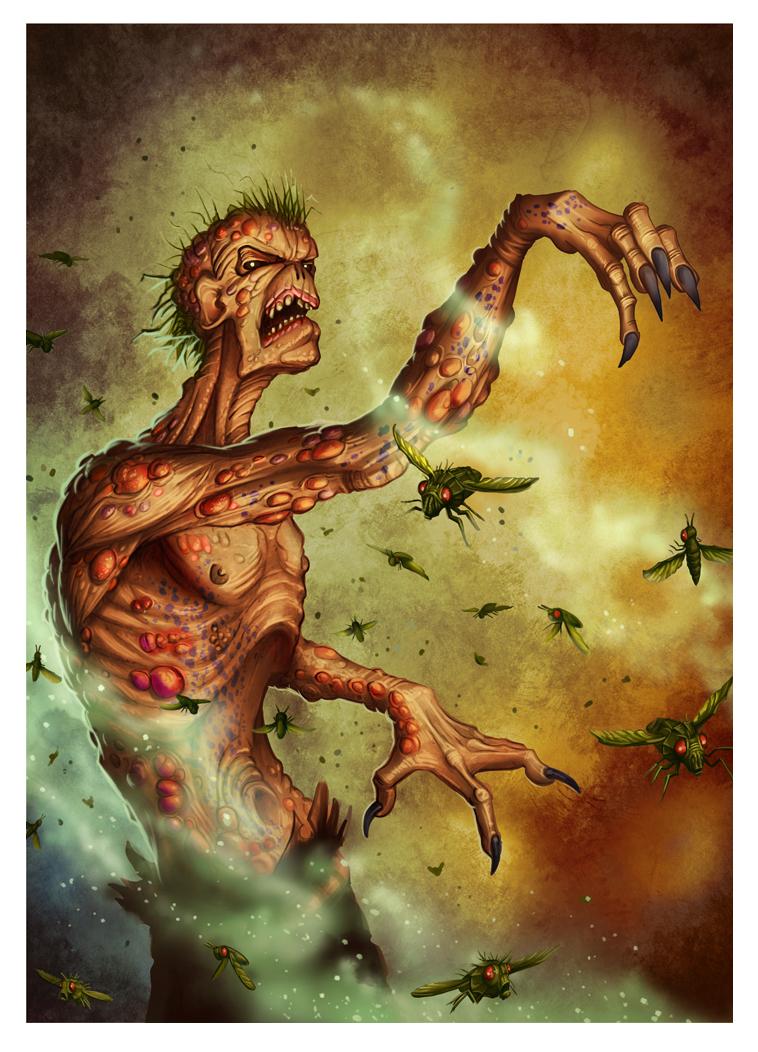 Putrescent zombie