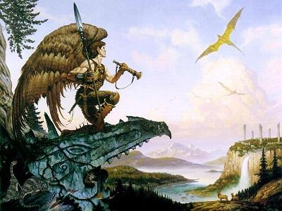 Winged elf1