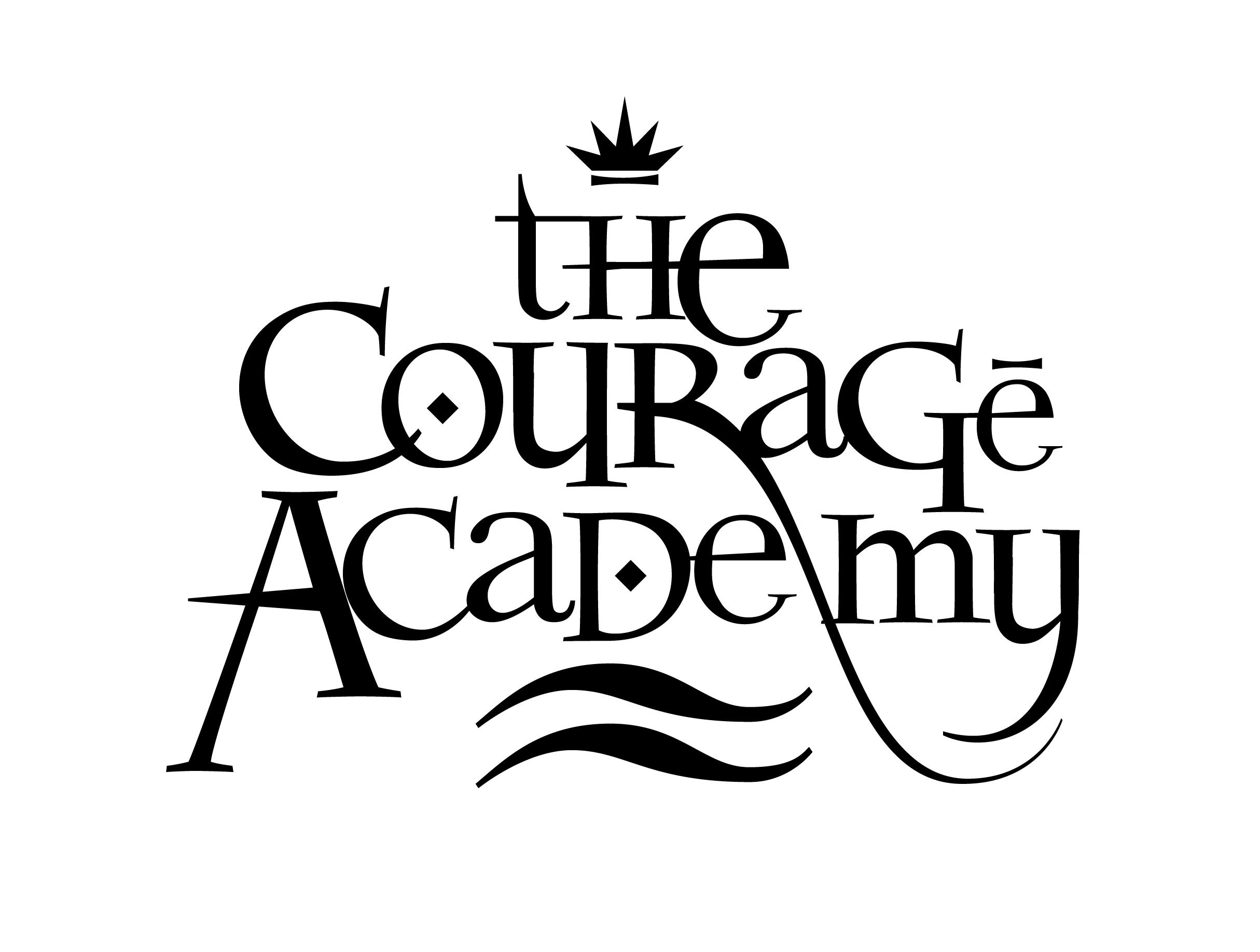 Logo corage academy