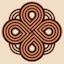 Kaladonian knot 60x64