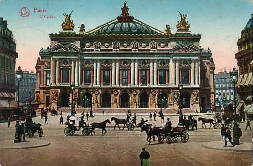 Paris opera  circa 1900