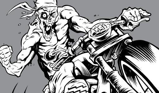 5 beast wreck vector genius zombie