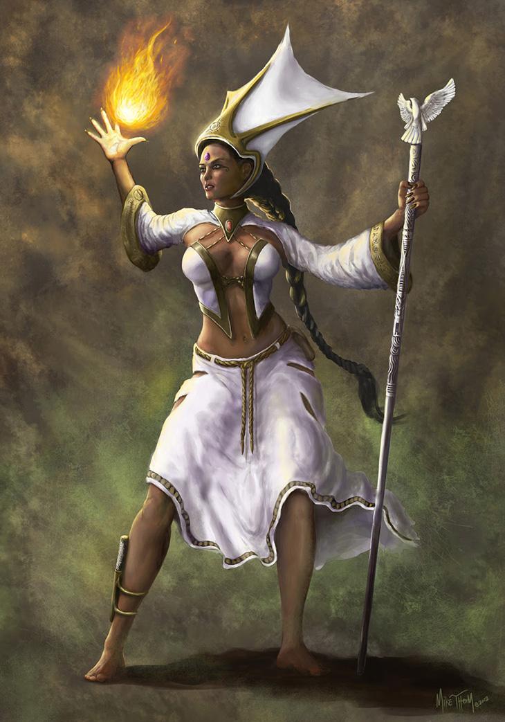 Hildegard grunwald   anointed priestess of shallya