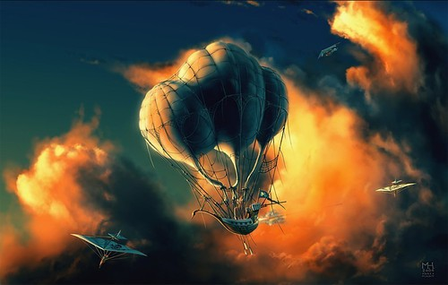 Sci fi airship balloon drawing gliders steampunk a5387265c5524ed88f70074336c1d494 h