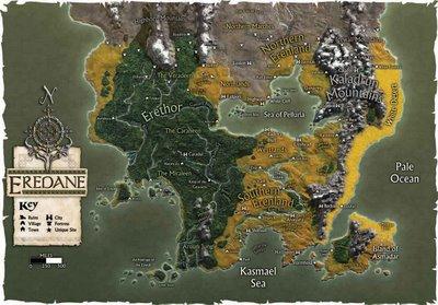 Mapa eredane