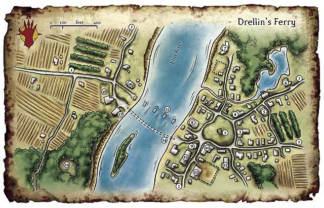 Drellins ferry