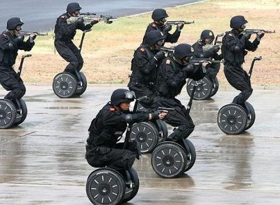 Segway police squad