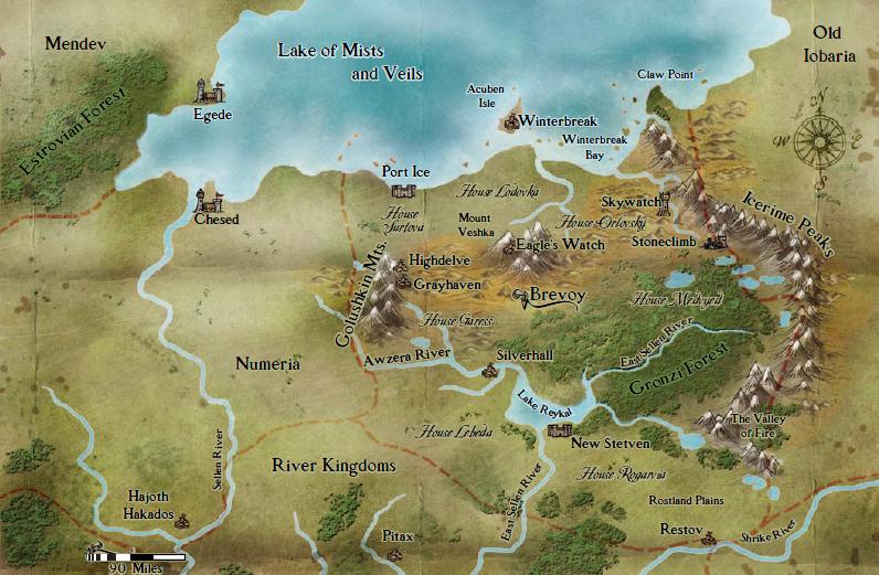 Brevoy map