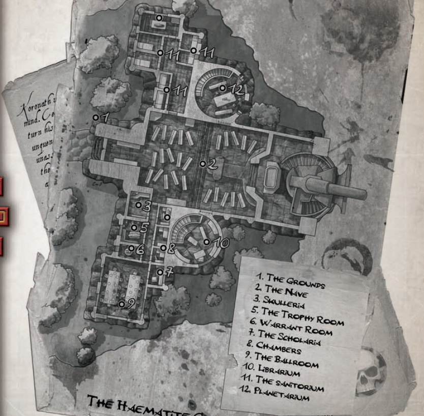 Haematite cathedral map
