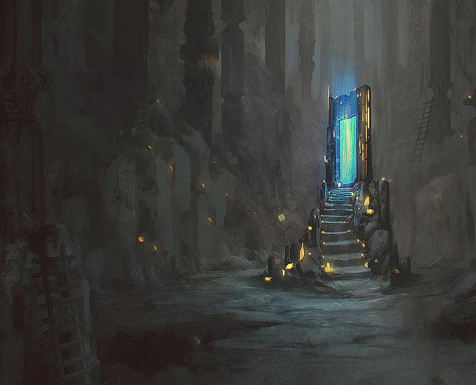 Fantasy landscape scenery 11