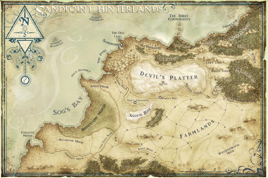 Sandpoint hinterlands