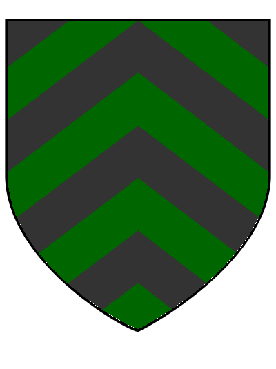 Chevrony chalybs and adamant, the House Selerius arms
