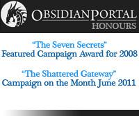 Obsidian Portal Honours