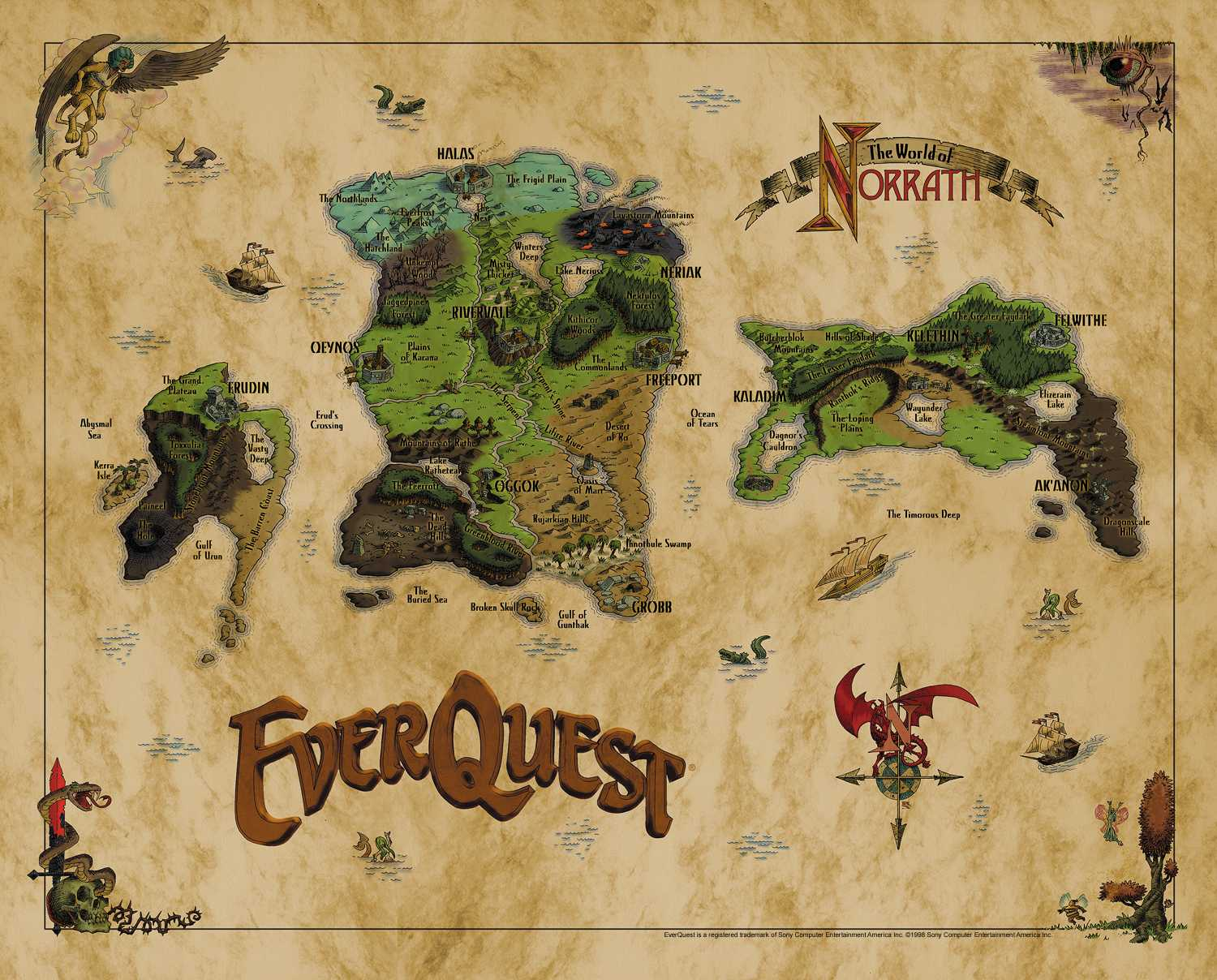 Everquest all large