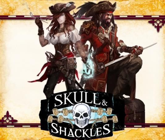 Skull and shackles