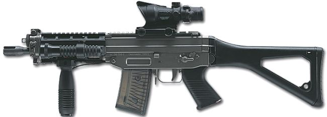Darkons assault rifle