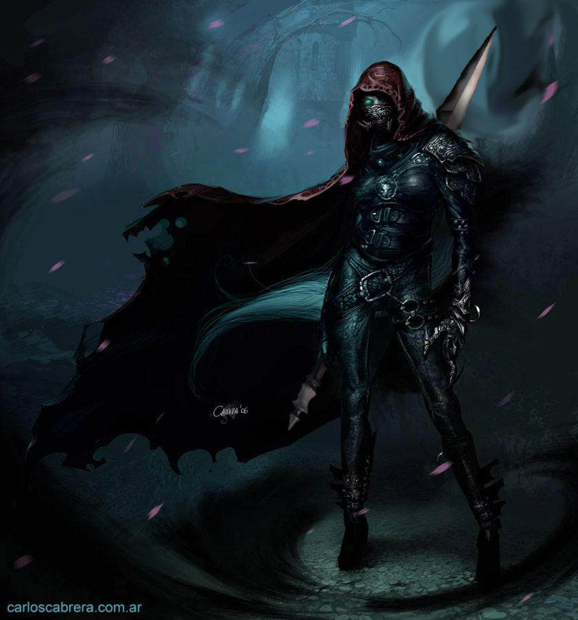 Selaowana with onyx blade