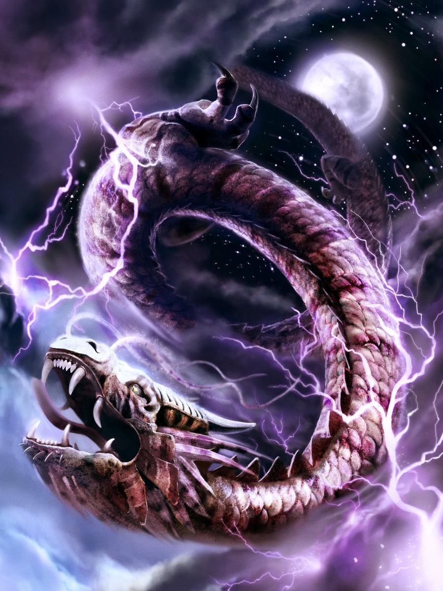 Storm dragon by jrcoffroniii d58wogk