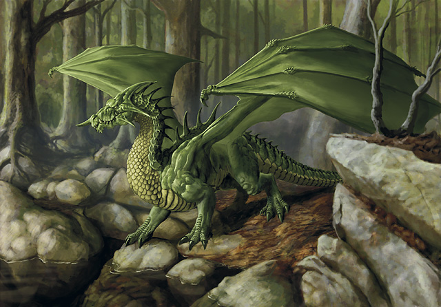 Green dragon b