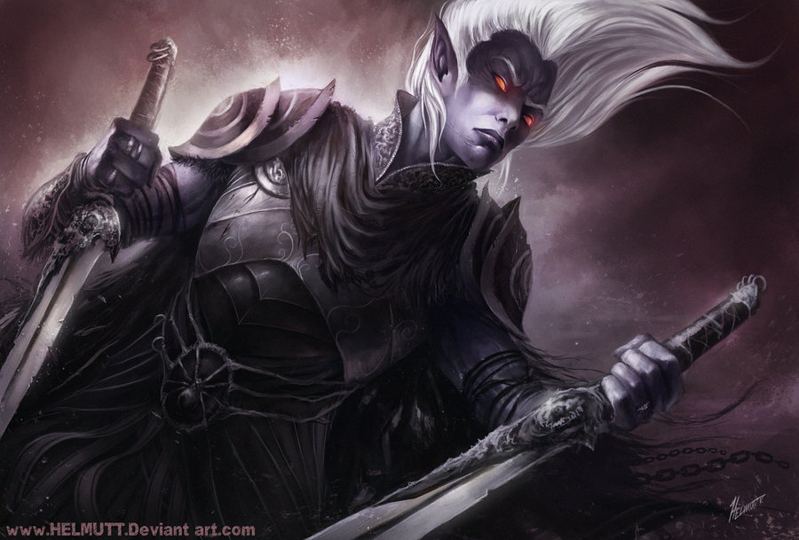 Drow by helmuttt d3its65