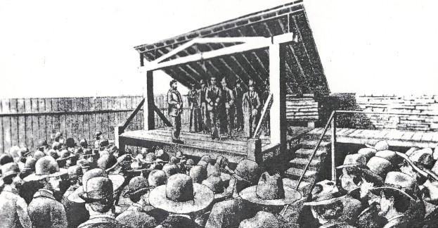285 cherokee bill gallows.