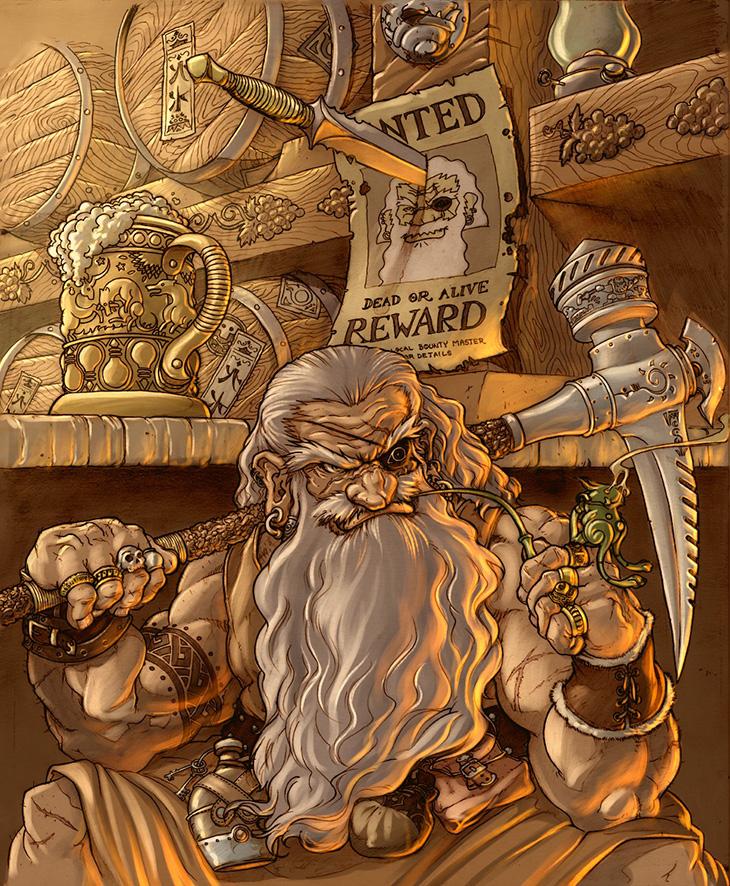 Harlok balgorson   proprietor  golden mug gambling hall