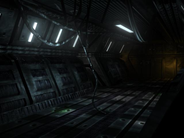 Hallway by schizophrniac