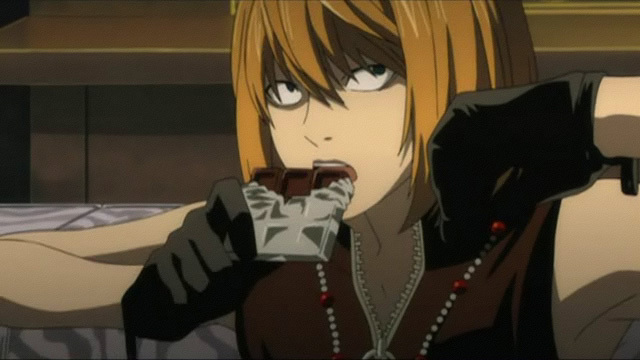 Mello w anime