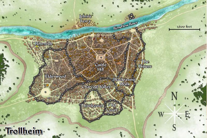 Map of Trollheim