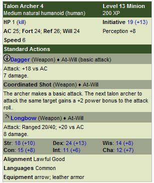 Talon archer