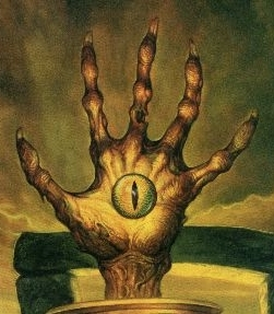 Vecna   hand and eye