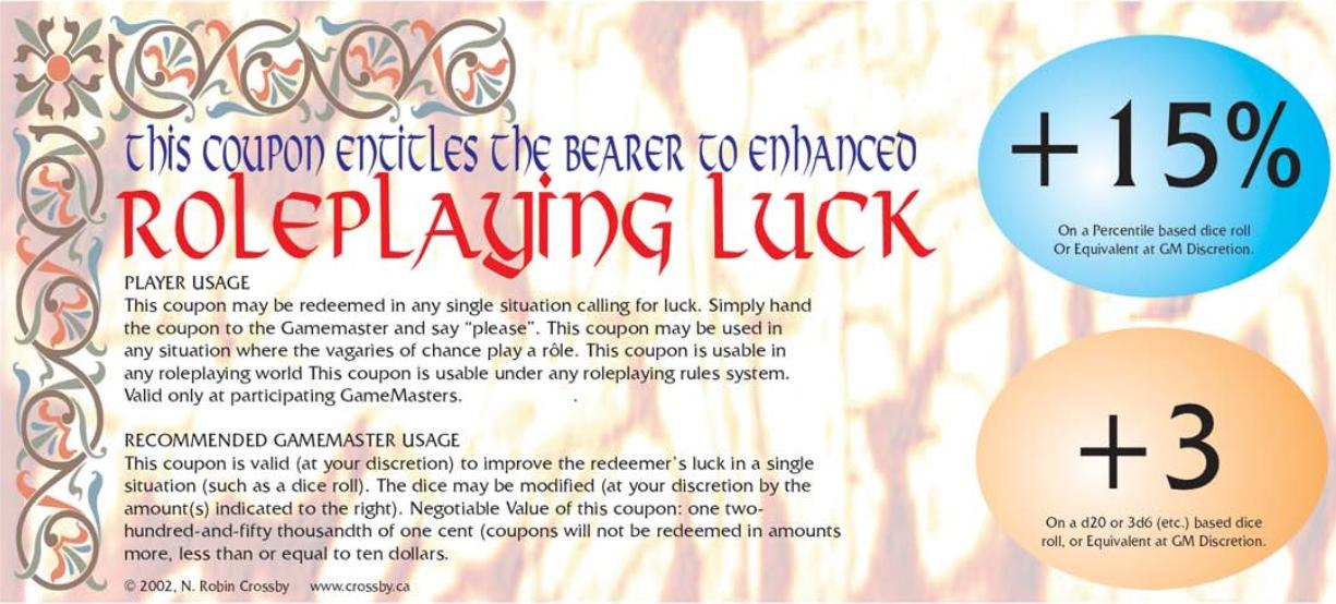 Rp luck15