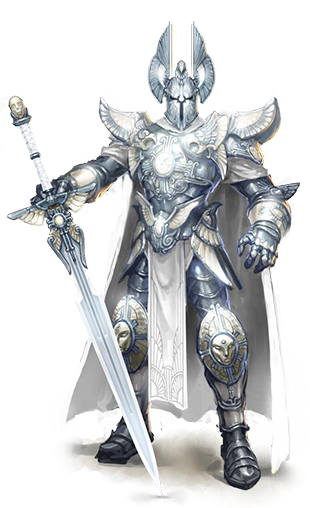 Hero class haven paladin male