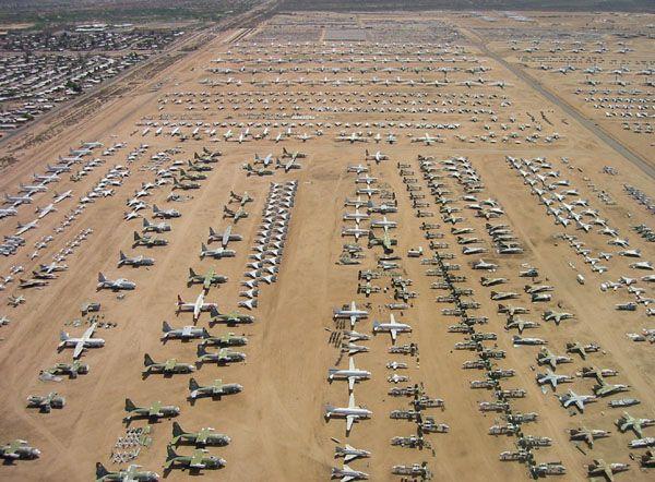 Mojave desert boneyard1